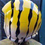airbrushartstudio.it-aerografie-padova-italy-yellow-whitetiger-flighthelmet