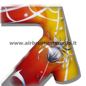airbrushartstudio.it-aerografie-padova-italy-bike-pinarello-spider-red-yellow-black-white