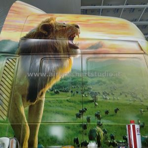 airbrushartstudio_it-aerografie-padova-italy-truck-ilreleone-thelionking