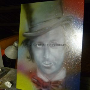 airbrushartstudio.it-aerografie-padova-italy-oil-willy-wonka