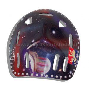 airbrushartstudio.it-aerografie-padova-italy-manga-goldrake-hokey-helmet-