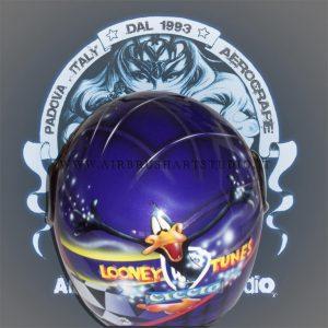 airbrushartstudio_it-aerografie-padova-italy-helmet-looneytunes