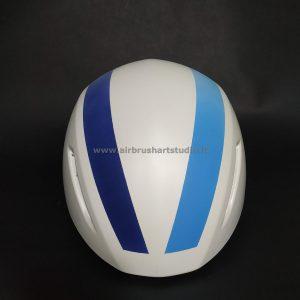 airbrushartstudio.it-aerografie-padova-italy-bike-helmet-white-blue-lightblue