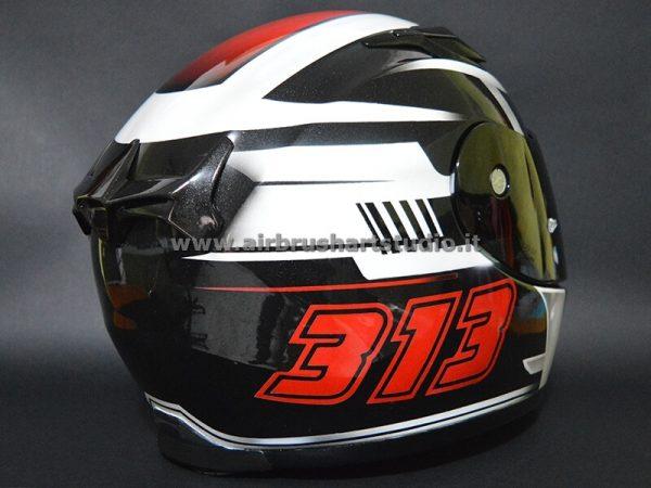airbrushartstudio_it-aerografie-padova-italy-kart helmet Fausto Zuccato