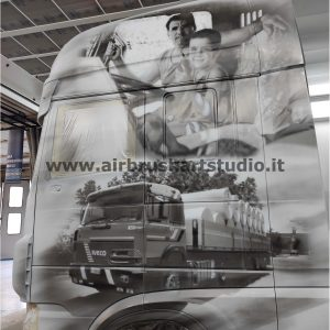 airbrushartstudio_it-aerografie-padova-italy-DAF bianco e nero